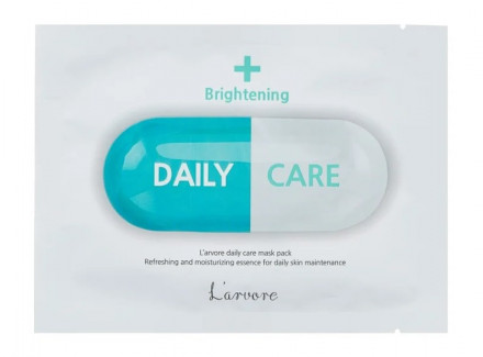 Тканевая маска осветляющая L'arvore Daily Care Mask Brightening 25 г: фото