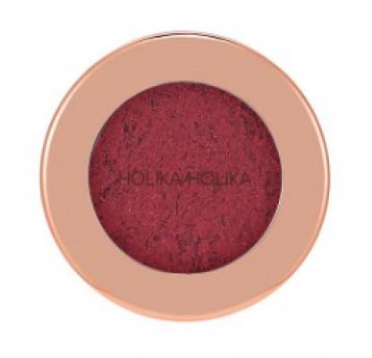Тени-фольга для век Holika Holika Foil Shock Shadow 04 Burned Cherry, темно-вишневый 1,9 г: фото