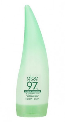 Лосьон для лица и тела интенсивно увлажняющий Holika Holika Aloe 97% Soothing Lotion Intensive 240мл: фото