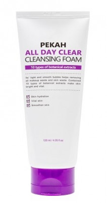 Пенка для умывания PEKAH All Day Clear Cleansing Foam 120 мл: фото