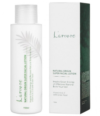Лосьон успокаивающий L'arvore Natural Origin Super Facial Lotion 150 мл: фото