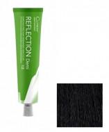 Безаммиачный краситель для волос CUTRIN REFLECTION DEMI 1.0 черный 60 мл: фото