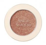 Тени для век с глиттером THE SAEM Saemmul Single Shadow Glitter OR09 Appeal Orange: фото