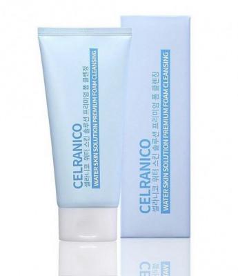 Пенка для умывания интенсивно увлажняющая CELRANICO Water Skin Solution Premium Foam Cleansing 150 мл: фото