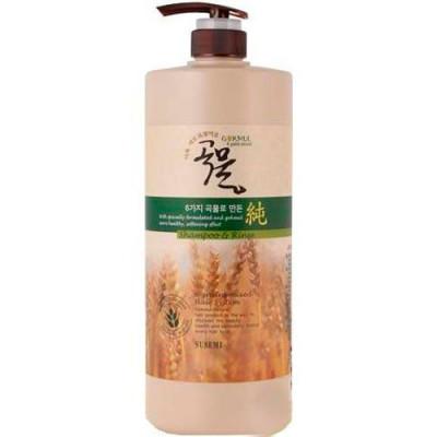 Шампунь-кондиционер для волос Enough 6 Mixed Cereal Shampoo& Rinse 1000мл: фото