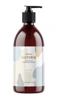 Гель для душа МОЛОЧНЫЙ EVAS NATURIA Creamy Milk Body Wash Milk me 750 мл: фото