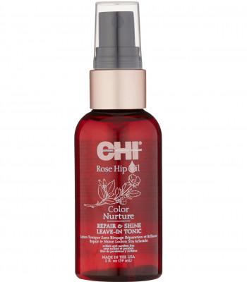 Тоник Поддержание Цвета с Маслом Дикой Розы CHI Rose Hip Repair and Shine Hair Tonic 59 мл: фото
