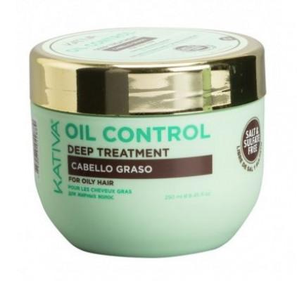 """Маска """"Контроль"""" интенсивный уход для жирных волос OIL CONTROL 250мл: фото"""