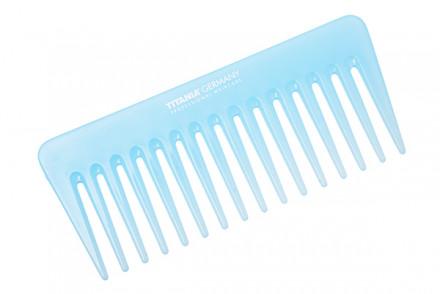 Гребень для волос большой TITANIA 14 см, разные цвета: фото