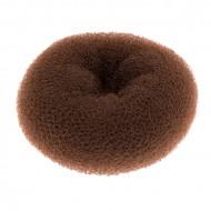 Подкладка-кольцо для причесок средняя Harizma Professional 11,5см шатен: фото
