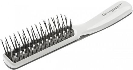 Щётка для волос массажная антистатическая EUROSTIL средняя облегченная: фото