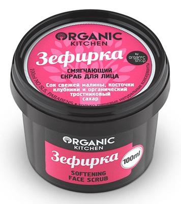 Смягчающий скраб для лица Organic Kitchen